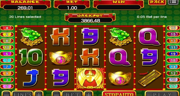 Mesin Slot Lucky Valentine Joker123