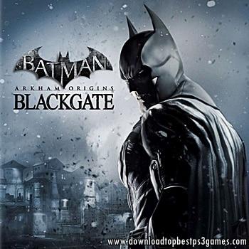 BATMAN ARKHAM ORIGINS BLACKGATE GAME PS3