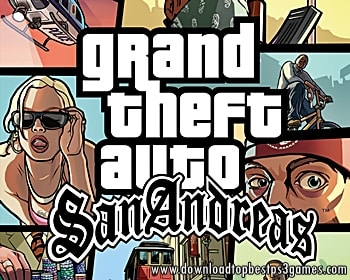 GRAND THEFT AUTO SAN ANDREAS GAME PS3