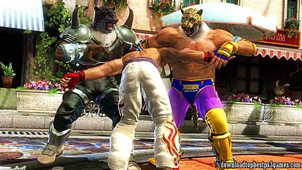 Tekken Tag Tournament 2 ps3 iso