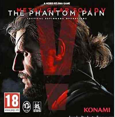 Metal Gear Solid V The Phantom Pain Game PS3