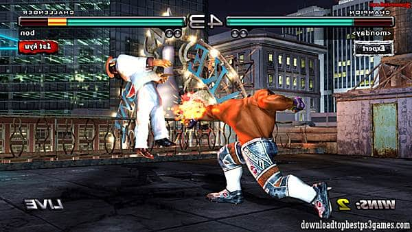 download Tekken 5 Dark Resurrection ps3 iso