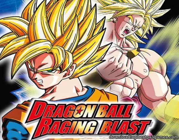 Dragon Ball Raging Blast Game PS3