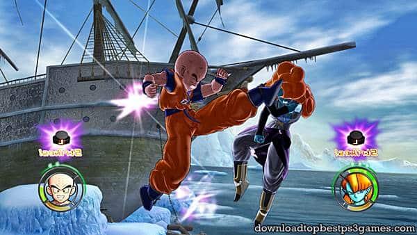 Dragon Ball Raging Blast PS3 PKG