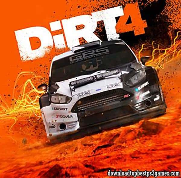 Dirt 4 PS4 ISO Download Free Game With All Updates and Fix DLC (PKG)