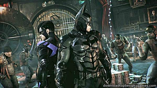 Batman Arkham Knight PS4 ISO