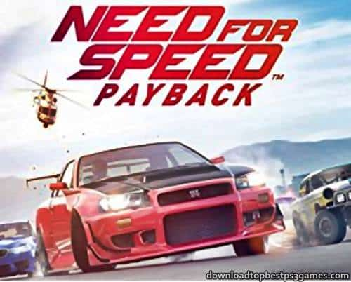 Need for Speed Payback PS4 ISO Download Game +Updates & DLC (PKG)