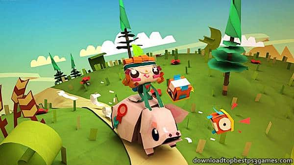 Tearaway Unfolded PS4 ISO