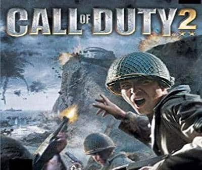 Call of Duty 2 Game Xbox 360