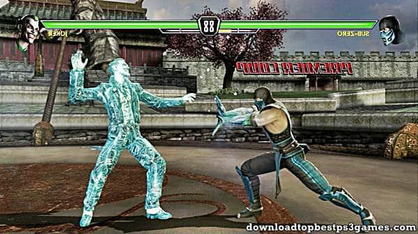 Mortal Kombat Vs DC Universe PS3 Download