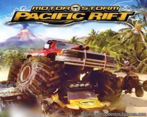 MotorStorm Pacific Rift Game PS3