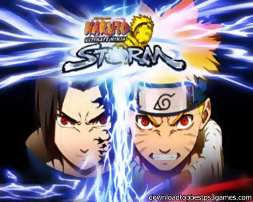 Naruto Ultimate Ninja Storm Game PS3