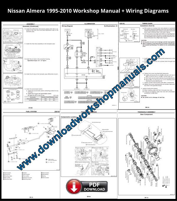 Nissan Almera Workshop Repair Manual