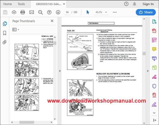 Dodge Attitude Workshop Repair Manual