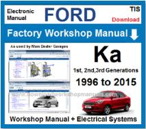 FORD WORKSHOP MANUALS