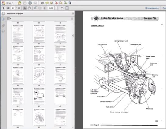Lotus Elise Series 2 Workshop Repair Manual
