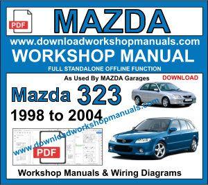 1998 Mazda Astina Wiring Diagram