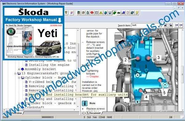 Skoda Engine Coolant Skoda Circuit Diagrams