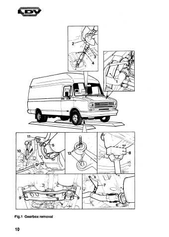 LDV Convoy Workshop Manual Download