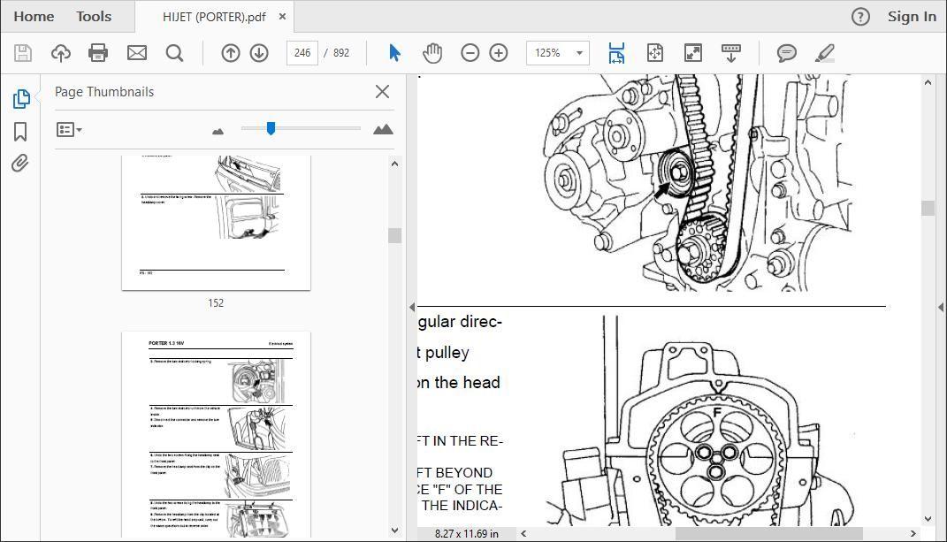 Daihatsu Hijet Workshop Repair Manual
