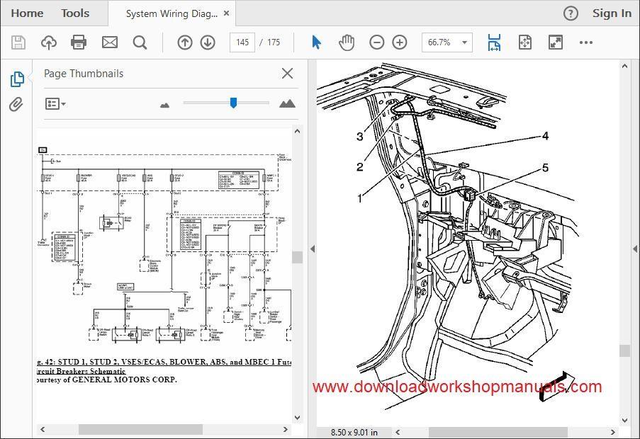 Hummer H2 Workshop Repair Manual Download