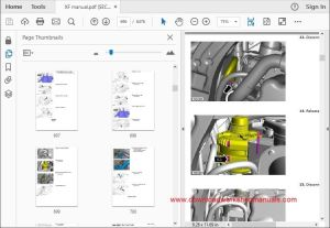 JAGUAR XF XFR Workshop Manual Download  DOWNLOAD WORKSHOP