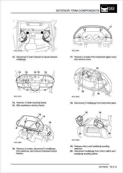 Land Rover Freelander 1 Service Repair Workshop Manual