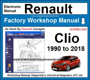 Renault Clio Workshop Service Repair Manual Download