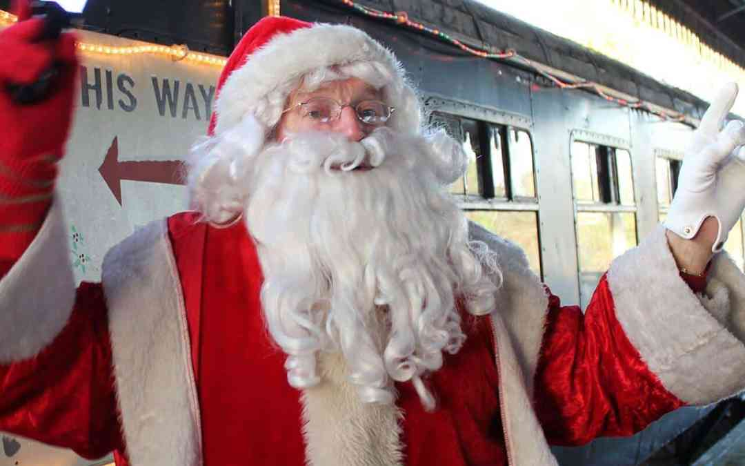 Now on sale! Santa Steam Train tickets for the Lapland Express