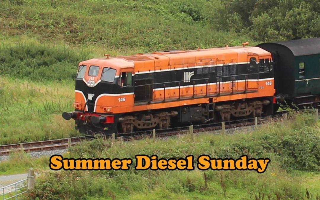 Fire risk means diesel stands in for steam!