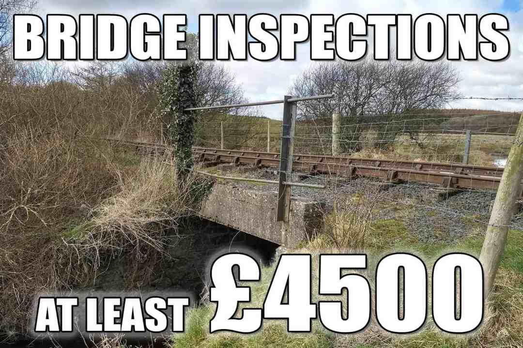 Bridge Inspections - at least £4500