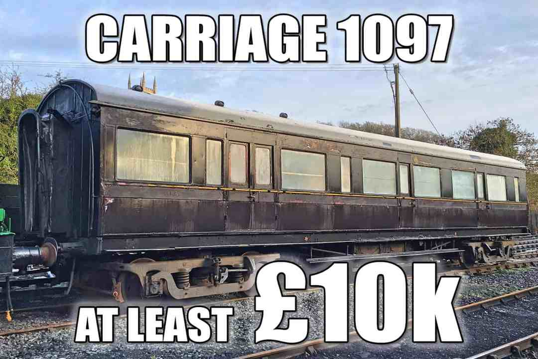 Carriage 1097 - at least £10k