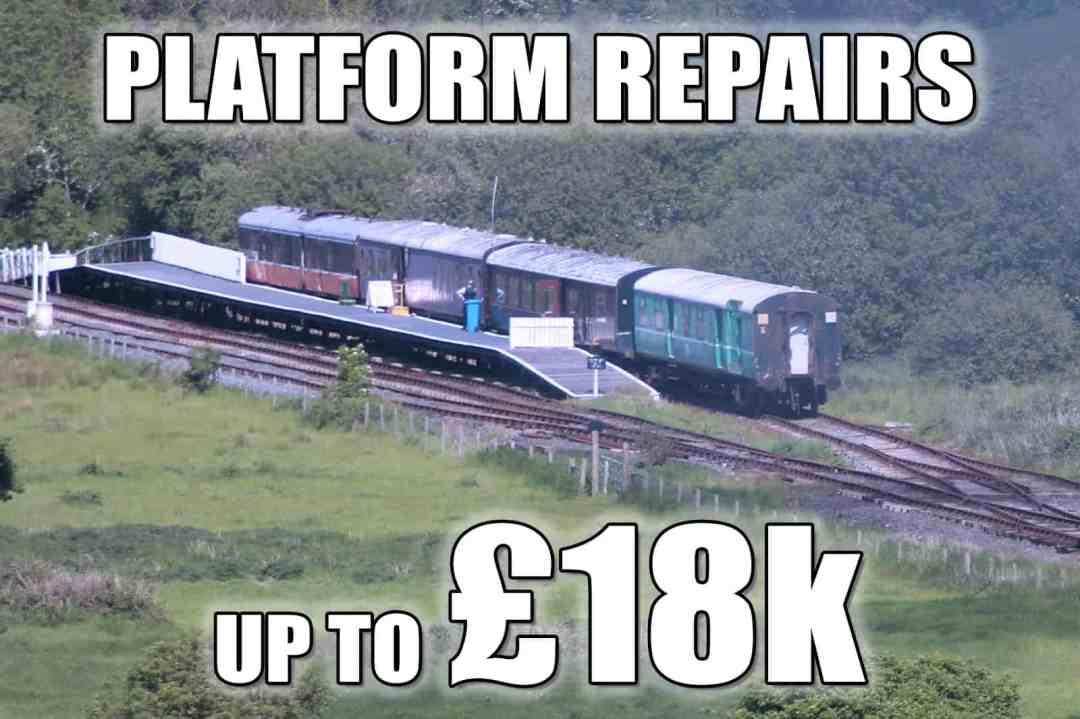 Inch Abbey Platform - £18k of immediate work needed