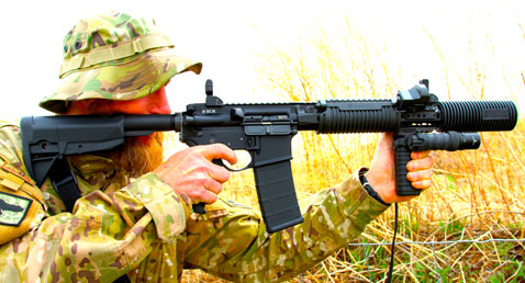 This retired Captain, USASF 5th Grp., said he wished he had the BCM4 SBR in Afghanistan than his M4A1. Fast hits at 100-yards were a cinch.