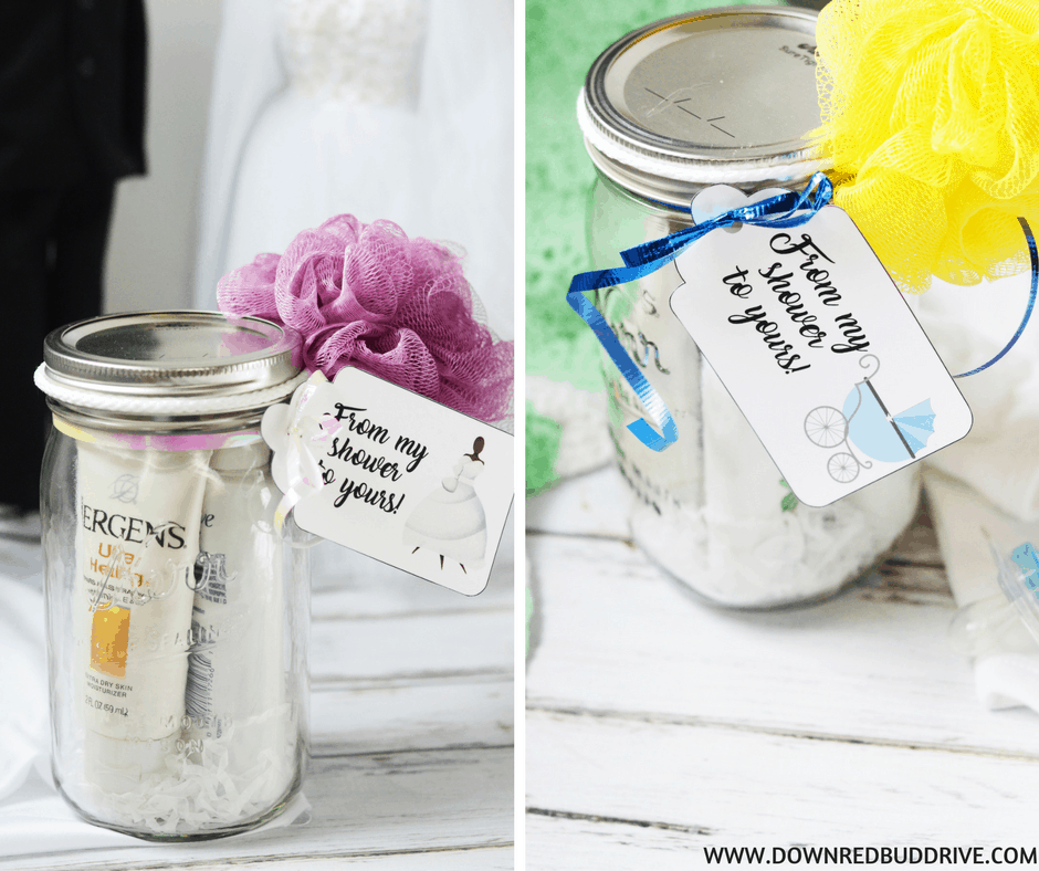 DIY Baby Or Bridal Shower Prize Idea Free Printables