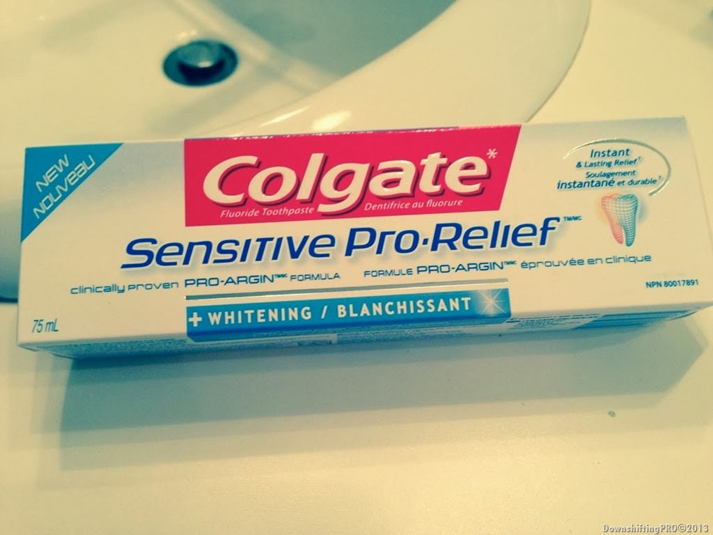 Colgate Sensitive Pro Relief–Relief INDEED–Product Review
