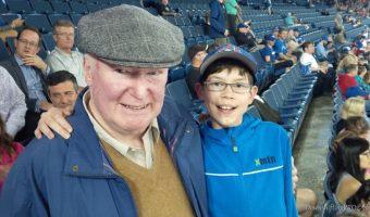 Wordless Wednesday – @BlueJays Baseball with three generations: Grandpa, Son & Grandson #priceless