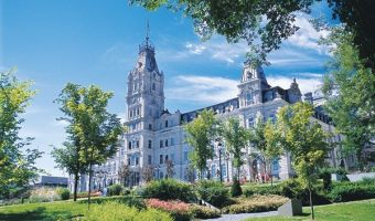 Quebec City–Parliament & Tourny Fountain #Travel #BonjourQuebec #DPROFamily #Vacation #Review