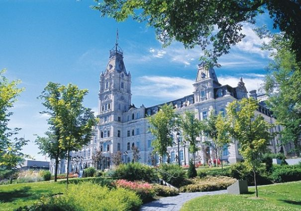 Quebec city parliament tourny fountain travel bonjourquebec dprofamily vacation review - Office de tourisme montreal canada ...