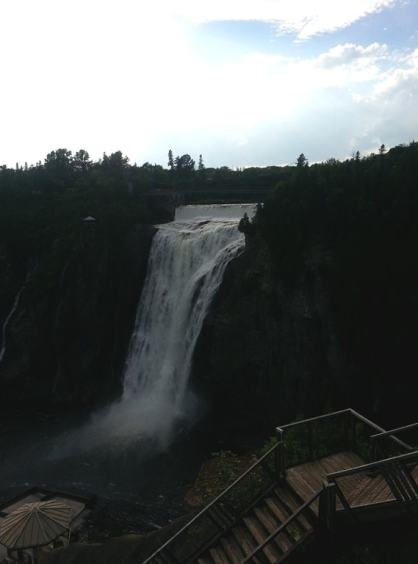 Montmorency Falls Park #BonjourQuebec #DPROfamilyVaca @DownshiftingPRO #quebec_2
