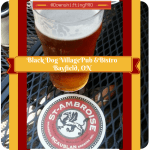 Black Dog Village Pub and Bistro– Bayfield, Ontario–Hit & Miss -The Beer Was Good – Restaurant Review