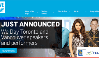 WeDay Toronto and Vancouver–Speaker & Performers announced for #WeDayTO #WeDayVan–Selena Gomez, Macklemore, Big Sean + Many more