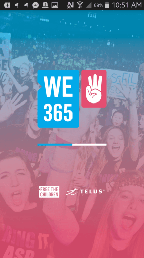 We365 App from Me to We and TELUS