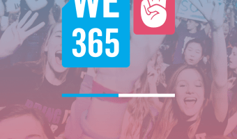 Giving Tuesday Teaching your Kids To Volunteer & Donate with the We365 App #WeDay