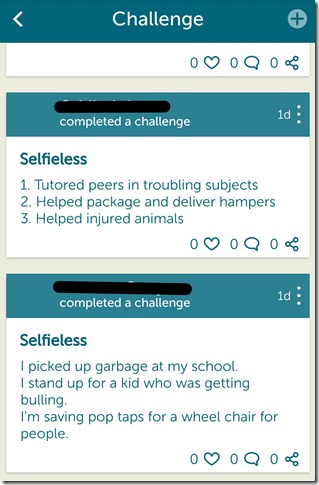 We365 App Review - @DownshiftingPRO #WeDay - SELFIELESS CHALLENGE 3