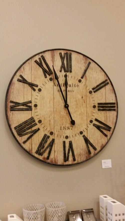 Urban Barn - Wall Clock Vintage Roman Numerals  @DownshiftingPRO
