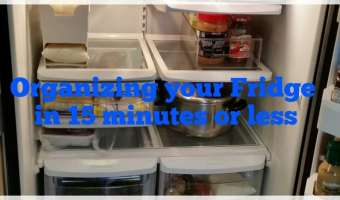 4 M– Organizing your Fridge with containers #GO_DPRO Get Organized Month