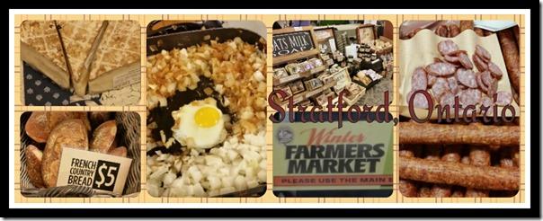 Stratford Winter Farmer's Market #Travel #Canada #Ontario @DownshiftingPRO
