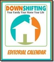 Editorial Calendar button DownshiftingPRO March 2015
