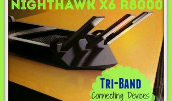 DownshiftingPRO reviews the #NETGEAR Nighthawk X6 R8000 Tri-Band WiFi Router #TechTuesday